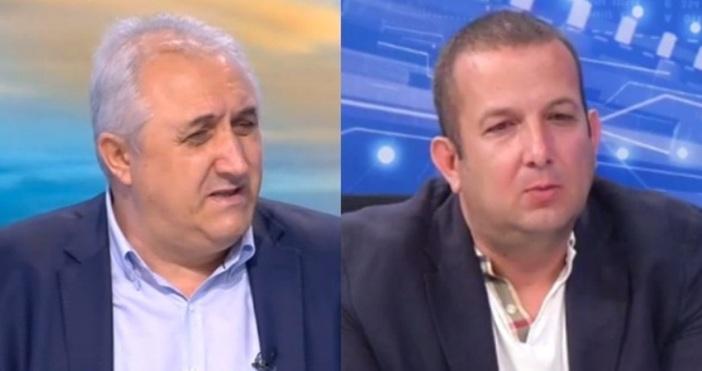 кадри bTVРедактор:Бившият земеделски министър Мехмед Дикме коментира случая със скандала