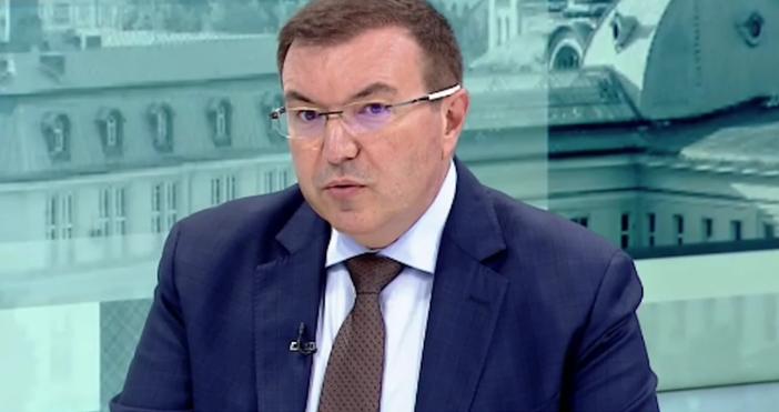 Кадър БНТКостадин Ангелов с пост във фейсбук:Ексминистърът на здравеопазването Костадин