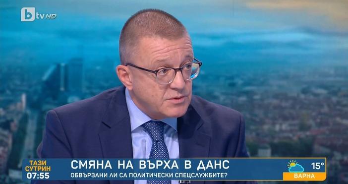 Редактор: ВиолетаНиколаеваe-mail:Експертътпо национална сигурност Бойко Ноев, който е същобивш министър