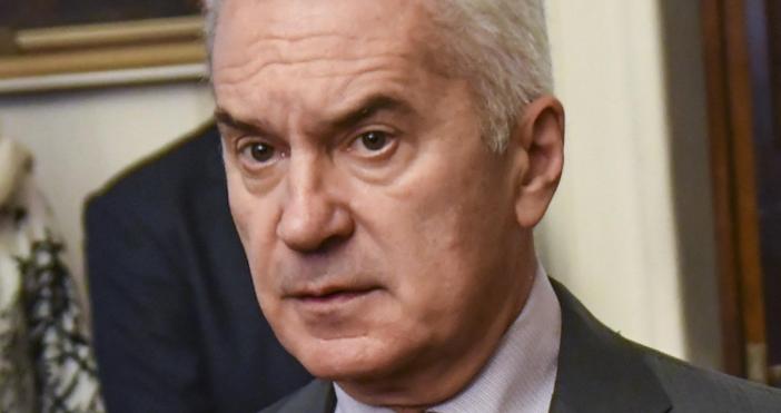 снимка БулфотоВолен Сидеров остро разкритикува решението на ВМРО и НФСБ