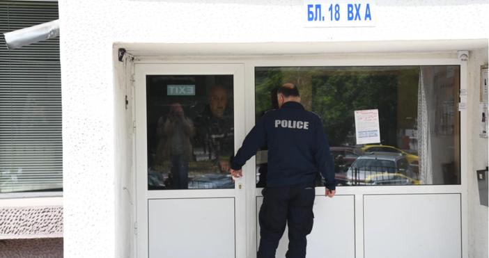 Снимка БулфотоПолицията действа бързо и задържа мъж за инцидент в