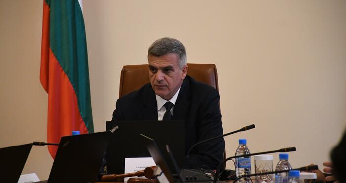 Снимка: БулфотоСлужебният премиер на България Стефан Янев обсъди със САЩ