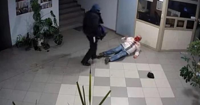 Кадър Милко Цветков, ФейсбукКадри от охранителна камера в пловдивска фирма