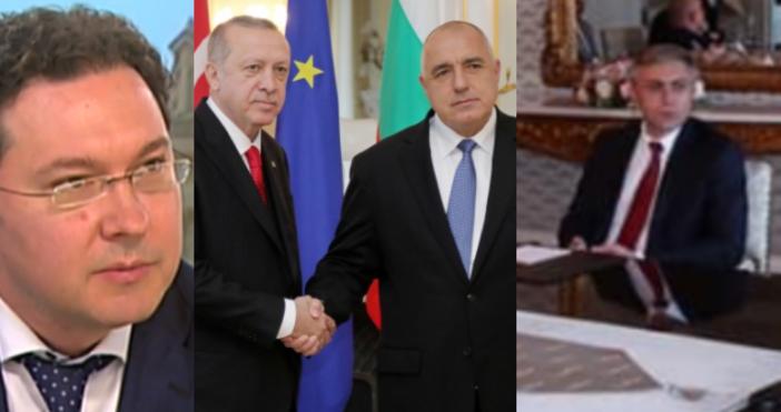 БулфотоТурският президент Ердоган има интереси в България и не крие