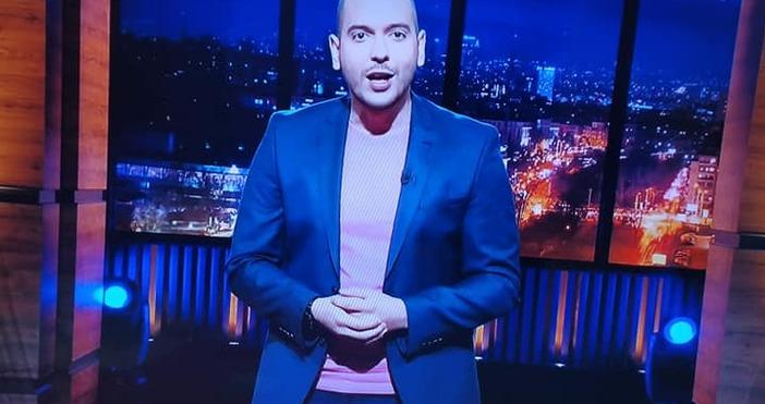 кадри: БтвЕто как започна тази вечер шоуто си Николаос Цитиридис.Водещият