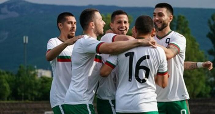 Снимка: фейсбук Team BulgariaГолмайстори: 1:0 Шопов 2, 2:0 Петров 5,