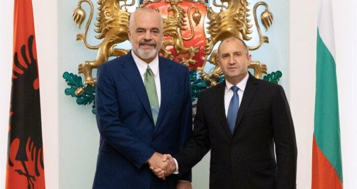 снимка:president.bgЕвропейската интеграция на страните от Западните Балкани е в интерес