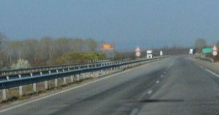 снимка БулфотоСтрашен скандал се разразил на магистрала