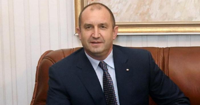 снимка БулфотоПрезидентът Румен Радев и държавният секретар на САЗ Антъни