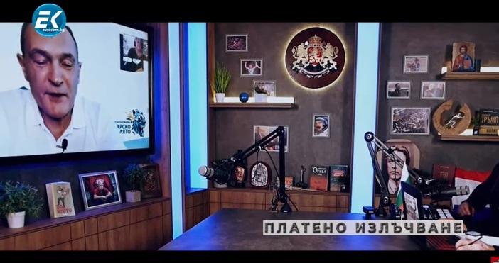 Кадър: ЕврокомБизнесменът Васил Божков нарече смешни санкциите по закона Магнитски.
