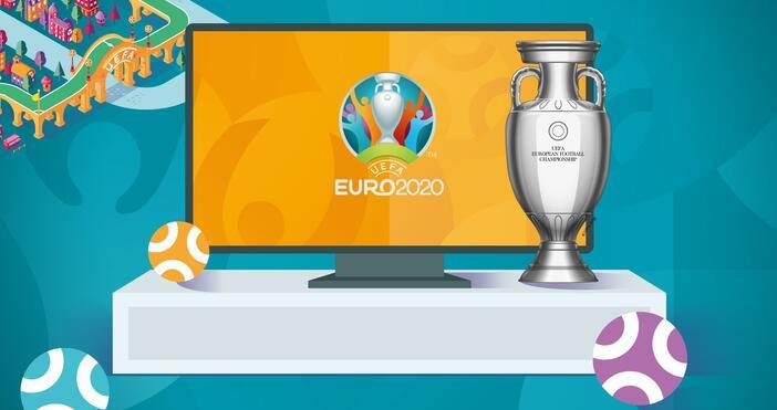 Снимка uefa.comФутболът отново излиза на преден план днес.Днес Евро 2020