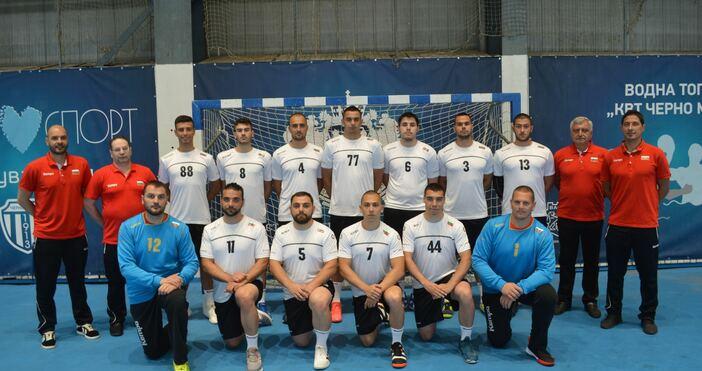 Снимка:Sport PR Events ManagmentМъжкият ни национален отбор по хандбал тренира