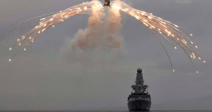 Кадър Royal NavyОсвен напускането на ЕС своенравната външна политика на