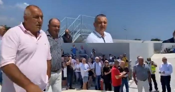 кадри и видео: Фейсбук/Бойко Борисов, архивОбщина Варна ще предаде за