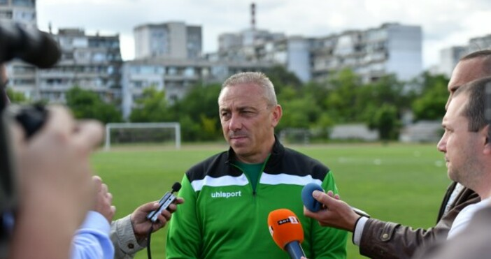 Снимка: Официален сайт на ПФКЧерно мореТреньорът на Черно море Илиан