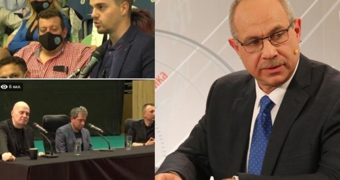 Кадър Антон Тодоров, ФБАнтон Тодоров от ГЕРБ критикува остро първата