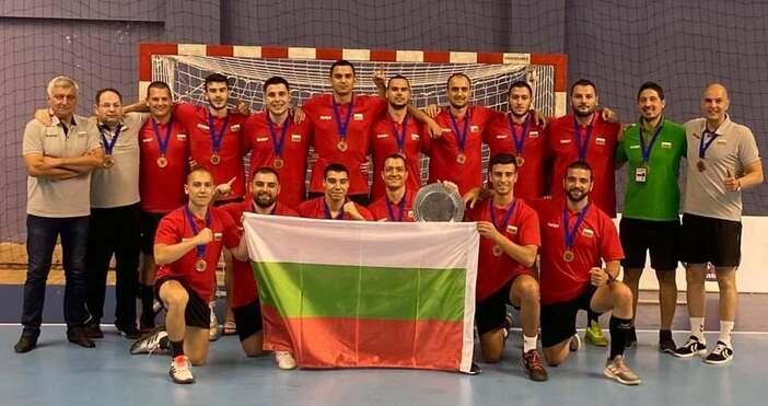 Снимки Българска федерация по хандбалБългарският мъжки национален отбор по хандбал