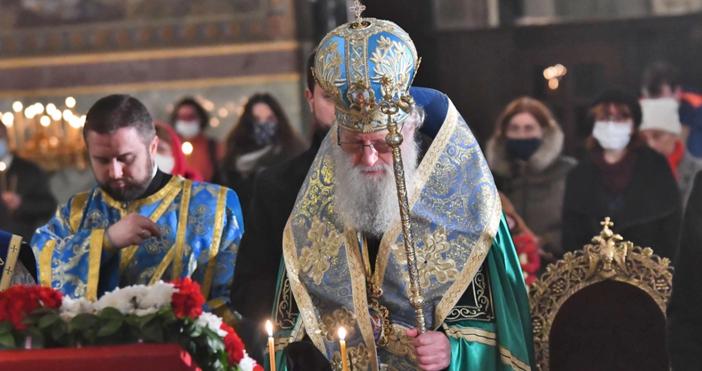 Снимка БулфотоПатриарх Неофит зарадви християните заднешния празник.Негово светейшество отправи обръщение