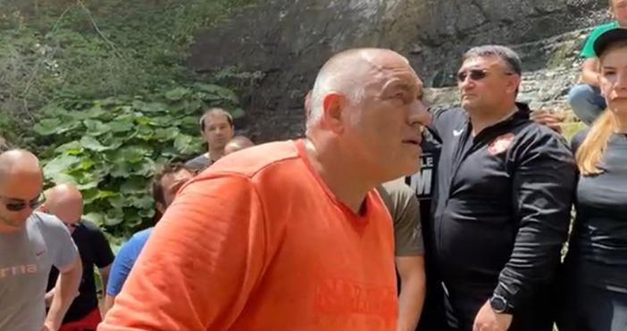 """Кадър Б. БорисовБойко Борисов заподозря управляващите във физическо убийство.""""Аз мислех,"""