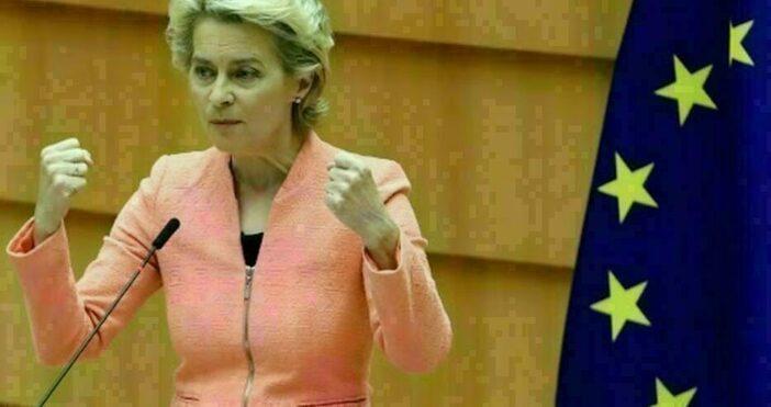 Снимка ЕвропарламентътУнгарският законза ЛГБТ+ общността, е срамен.ЕК ще изпрати до