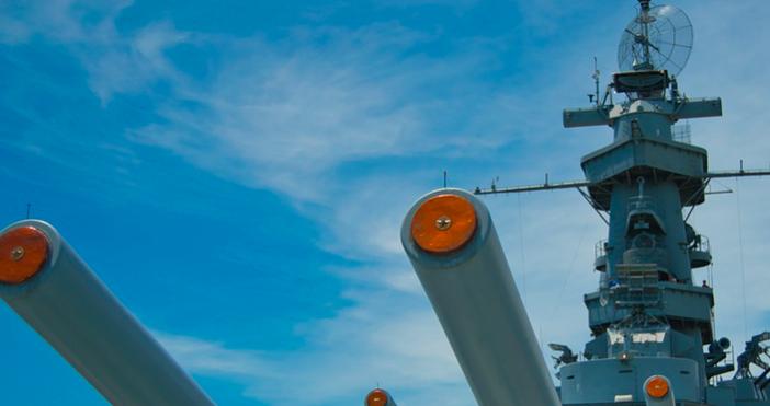 снимкаpixabayПредупредителен огън откриха патрулни руски кораби. Огънят е бил срещубританския