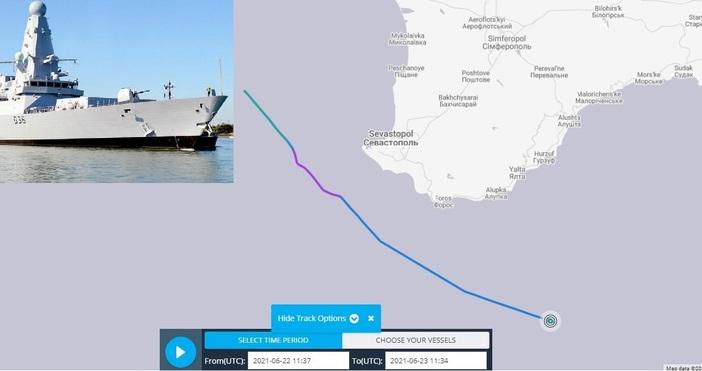 КадърКадърRoyal Navy и За дезинформация и фалшиви новини обявихаот Кралския