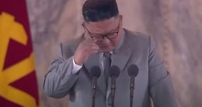 Кадър КСТВВ началото на юни Ким Чен Ун направи първата