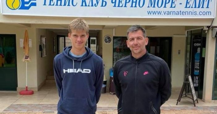 Снимка: ТК Черно море -ЕлитСъстезателят на варненския клуб по тенис