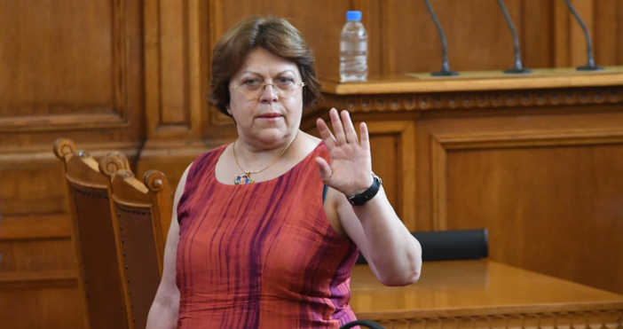 Снимка БулфотоТатяна Дончева обяви дали нейната партия ще подкрепи