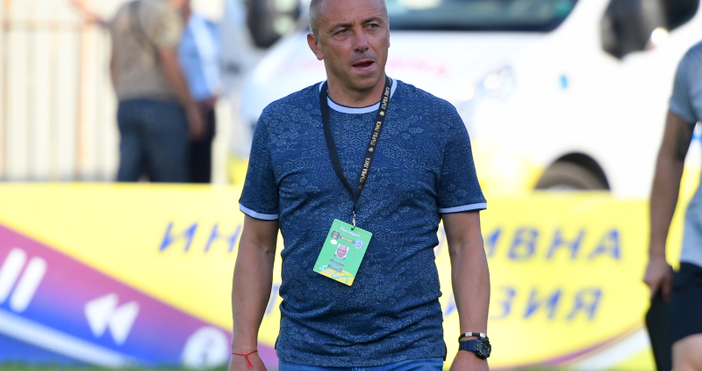 Снимка chernomorepfc.bg, видео Диема Спорт, gong.bg, vbox7.comТреньорът на Черно море