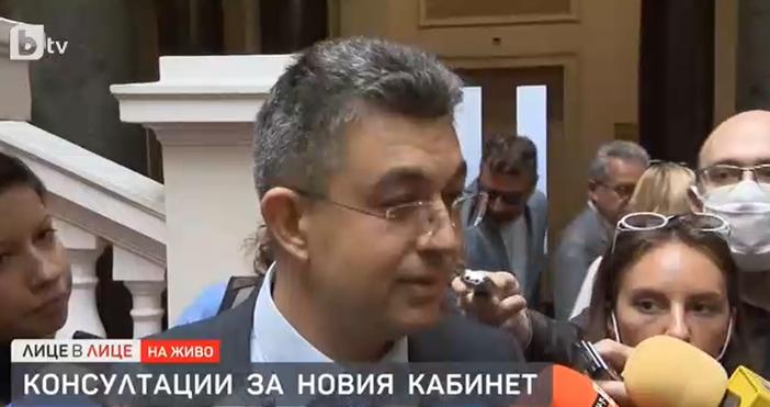 Редактор:e-mail:Кадър бТВКандидатът за премиер на ИТН Пламен Николов се появи