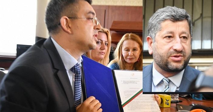БулфотоНеочакван разривЗапочна срещата между номинирания за премиер Пламен Николови представители