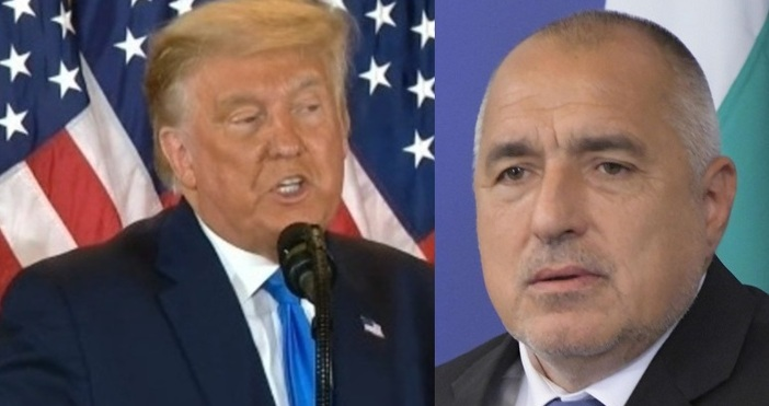 Кадри: Булфото и БНТБившият американски президент Доналд Тръмп е получил