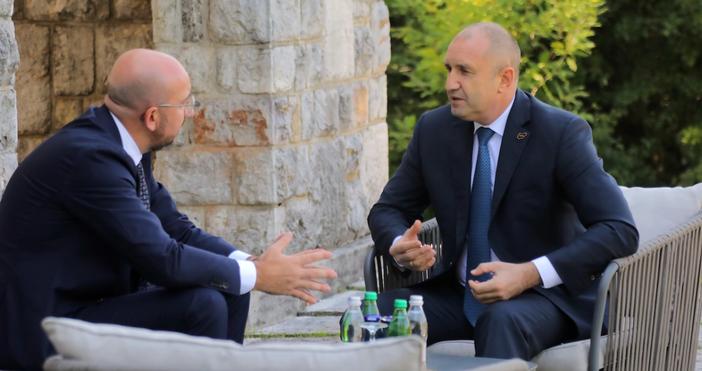 Пресцентър ПрезидентствоДържавният глава на България проведе важна среща на международно