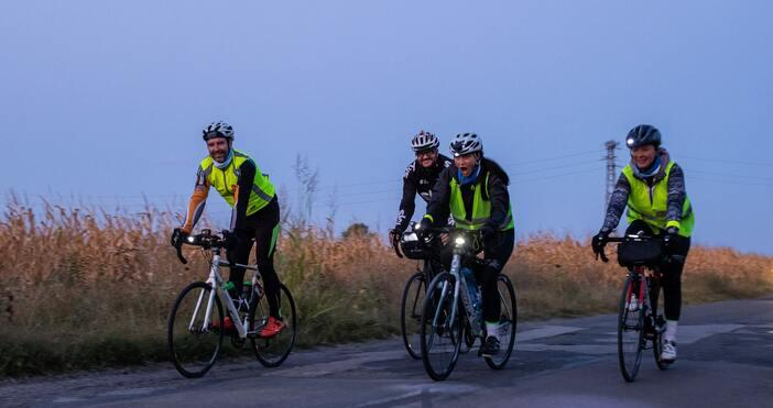 """Тази сутрин приключи предизвикателството за най-бързите велосипедисти от приключението """"Дунав"""