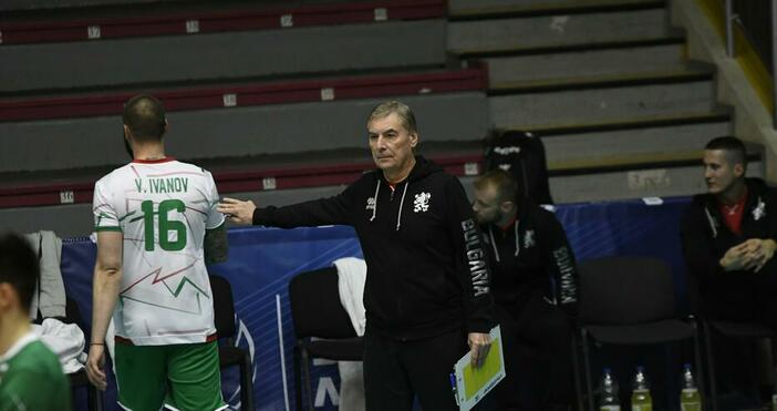 Снимка: БулфотоМъките на националния отбор по волейбол на България за