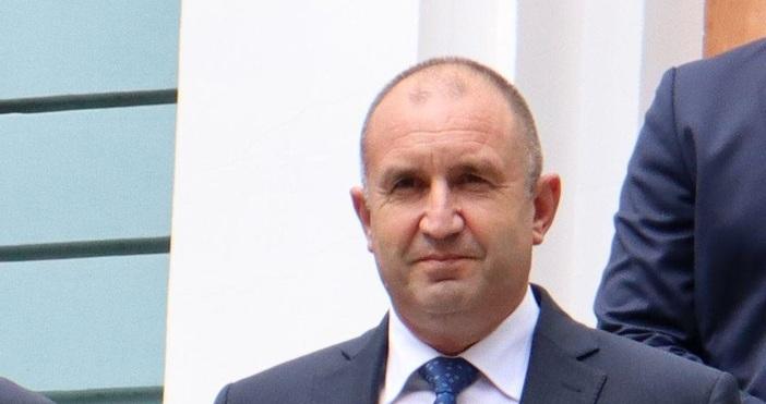 Снимка: БулфотоПрезидентът Румен Радев разпуска парламента на 16 септември. Това