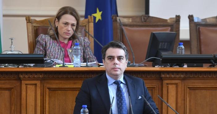 снимка: БулфотоФинансовият министър Асен Василев направи своя отчет за работата