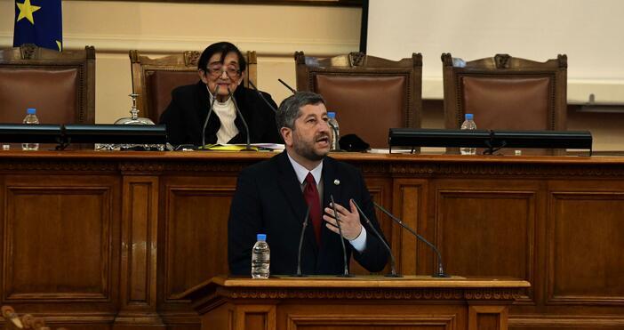 Лидерът на ПГ на Демократична Бъглария Христо Иванов взе думата