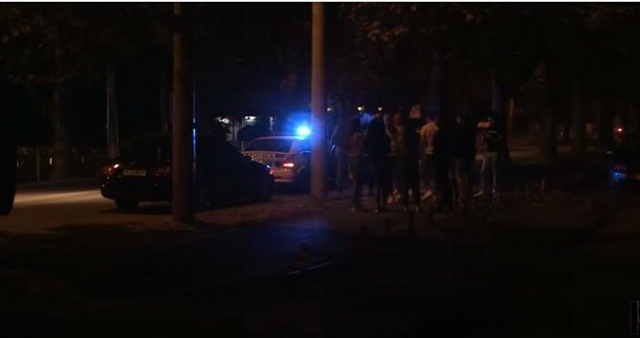 кадър и видео:Инцидентът е станал в тъмните часове тази вечер.