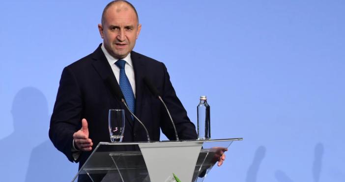 Снимка: БулфотоДържавниятглава на България направи изявление, след като бе издигната