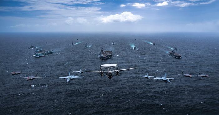 В последния месец многократно бойни самолети на Китай влизат във