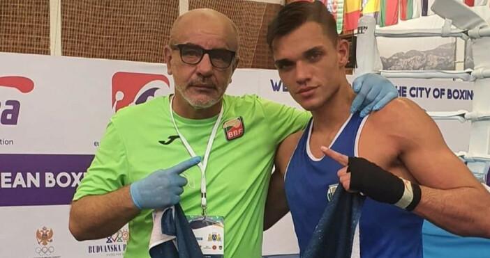 Снимка: БФ БоксТой последва Радослав Росенов (60 кг) и в