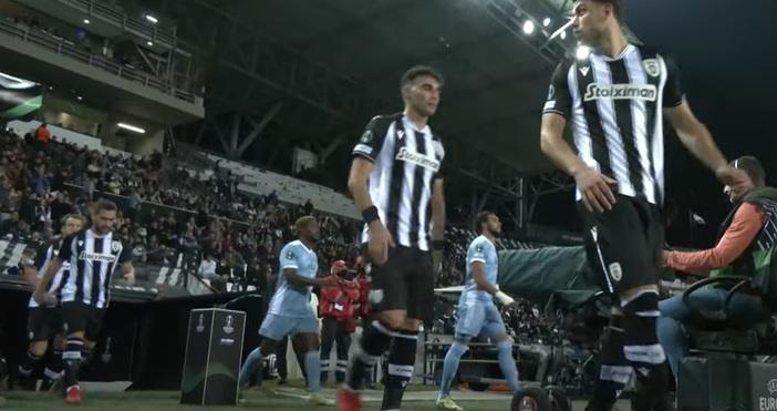 Солунският футболен клубПАОКе входирал оплакване в гръцката телевизия АНТ1 заради